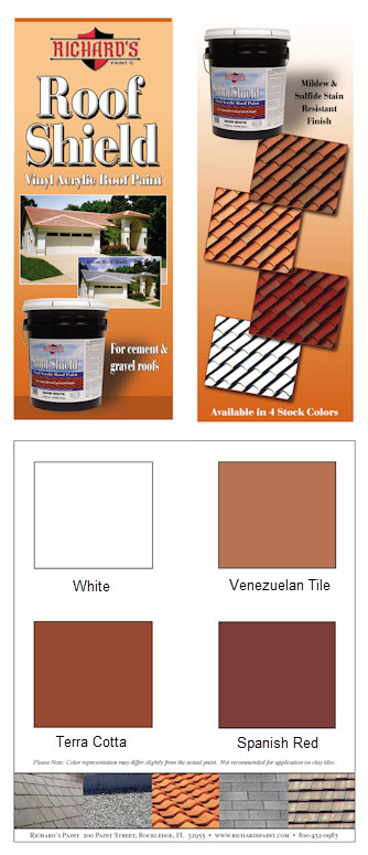 Roof Shield Color Card